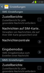 Samsung I8190 Galaxy S3 Mini - SMS - Manuelle Konfiguration - Schritt 4