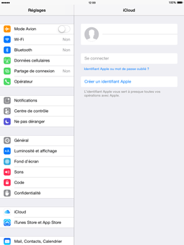 Apple iPad mini 2 - iOS 8 - Applications - Configuration du service iCloud d