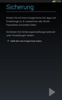 Samsung N5100 Galaxy Note 8-0 - Apps - Konto anlegen und einrichten - Schritt 23