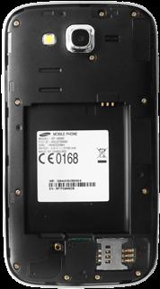 Samsung I9060 Galaxy Grand Neo - SIM-Karte - Einlegen - Schritt 5