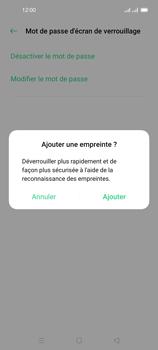 Oppo Reno 4 Pro - Sécuriser votre mobile - Activer le code de verrouillage - Étape 10