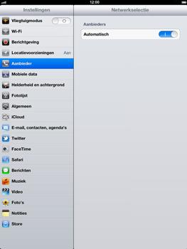 Apple The New iPad - Bellen - in het buitenland - Stap 4