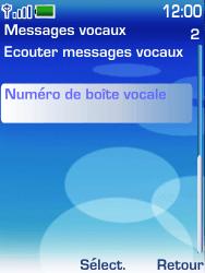 Nokia 6233 - Messagerie vocale - configuration manuelle - Étape 5