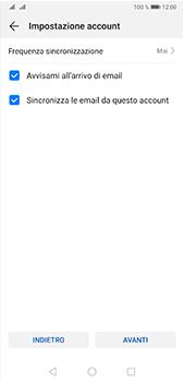 Huawei P20 Pro - Android Pie - E-mail - configurazione manuale - Fase 16