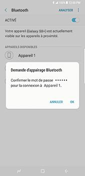 Samsung Galaxy S8 Plus - Bluetooth - connexion Bluetooth - Étape 10