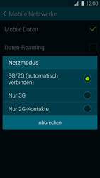 Samsung Galaxy S5 - Netzwerk - Netzwerkeinstellungen ändern - 7 / 8