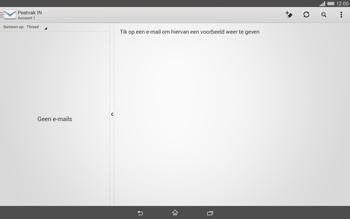 Sony Xperia Tablet Z2 4G (SGP521) - E-mail - Handmatig instellen - Stap 5