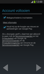 Samsung Galaxy S3 Mini Lite - apps - account instellen - stap 18