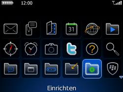 BlackBerry 8520 Curve - E-Mail - Konto einrichten - Schritt 3