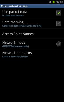 Samsung N7000 Galaxy Note - Internet - Manual configuration - Step 6