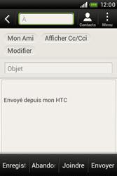 HTC A320e Desire C - E-mail - envoyer un e-mail - Étape 7