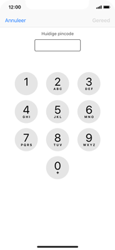 Apple iPhone XS - Beveiliging - Stel de pincode voor je simkaart in - Stap 6
