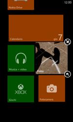 Nokia Lumia 820 / Lumia 920 - Operazioni iniziali - Personalizzazione della schermata iniziale - Fase 8