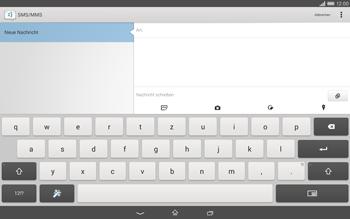 Sony Xperia Tablet Z2 LTE - MMS - Erstellen und senden - 0 / 0