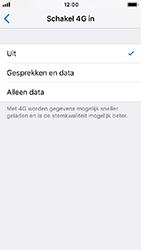 Apple iPhone SE - iOS 12 - Netwerk - Wijzig netwerkmodus - Stap 7