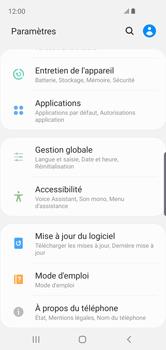 Samsung Galaxy S10e - Logiciels - Installation de mises à jour - Étape 5