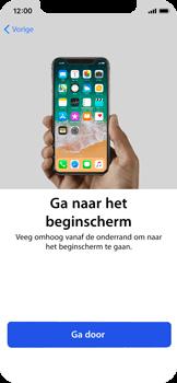 Apple iPhone X - Toestel - Toestel activeren - Stap 39