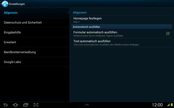 Samsung Galaxy Tab 2 10-1 - Internet - Manuelle Konfiguration - 20 / 25