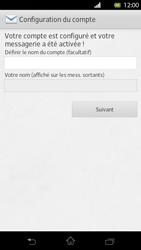 Sony Xperia T - E-mail - Configuration manuelle - Étape 15