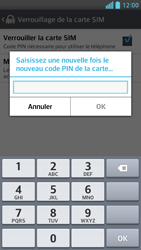 LG Optimus F6 - Sécuriser votre mobile - Personnaliser le code PIN de votre carte SIM - Étape 9
