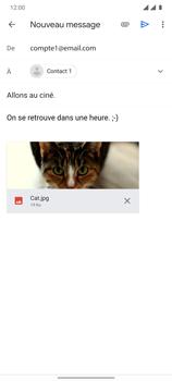 OnePlus 7T - E-mails - Envoyer un e-mail - Étape 15