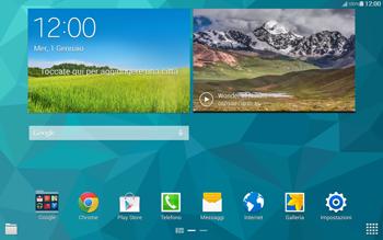 Samsung T805 Galaxy Tab S - Software - Installazione degli aggiornamenti software - Fase 1