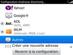 BlackBerry 9780 Bold - E-mail - Configuration manuelle - Étape 5