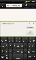 HTC One SV - MMS - Erstellen und senden - 10 / 21