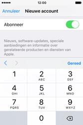 Apple iPhone 4S (iOS 9) - apps - account instellen - stap 16