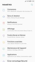Samsung Galaxy S6 - Android Nougat - Réseau - Sélection manuelle du réseau - Étape 4