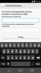 Huawei Ascend P7 - E-Mail - Konto einrichten (yahoo) - 9 / 12