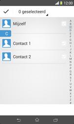 Sony D2005 Xperia E1 - Contactgegevens overzetten - delen via Bluetooth - Stap 6