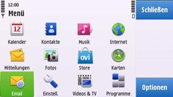 Nokia C6-00 - E-Mail - Konto einrichten - 1 / 1