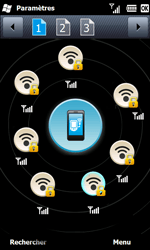 Samsung B7610 Omnia Qwerty - Wifi - configuration manuelle - Étape 8