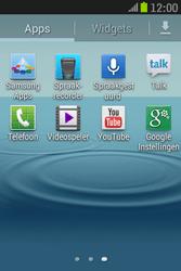 Samsung S6310 Galaxy Young - Voicemail - handmatig instellen - Stap 4