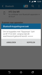HTC One M9 - Bluetooth - headset, carkit verbinding - Stap 7