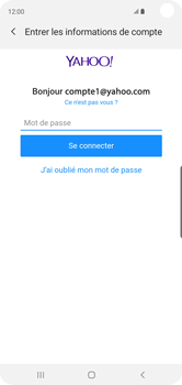 Samsung Galaxy S10 - E-mail - 032b. Email wizard - Yahoo - Étape 8