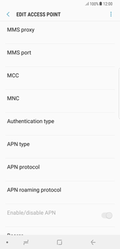 Samsung Galaxy Note 8 - MMS - Manual configuration - Step 14