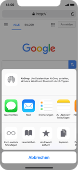 Apple iPhone X - Internet - Internet verwenden - 6 / 17