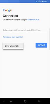 Samsung Galaxy Note 8 - Applications - Créer un compte - Étape 5