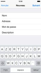 Apple iPhone 5c - E-mails - Ajouter ou modifier un compte e-mail - Étape 9