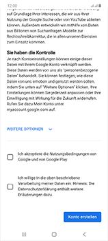 Samsung Galaxy Note 20 5G - Apps - Einrichten des App Stores - Schritt 16