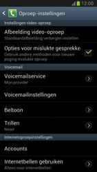 Samsung N7100 Galaxy Note II - Voicemail - Handmatig instellen - Stap 4