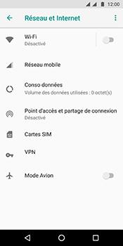 Motorola Moto G6 - Internet et connexion - Accéder au réseau Wi-Fi - Étape 5