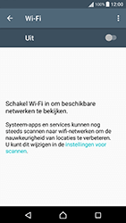Sony Xperia X Performance (F8131) - Wi-Fi - Verbinding maken met Wi-Fi - Stap 5
