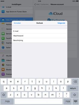 Apple iPad 4 iOS 9 - E-mail - Handmatig instellen - Stap 7