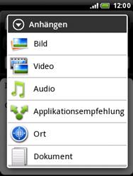 HTC A3333 Wildfire - E-Mail - E-Mail versenden - Schritt 12