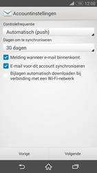 Sony D5803 Xperia Z3 Compact - E-mail - Account instellen (IMAP zonder SMTP-verificatie) - Stap 16