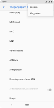 Nokia 9 - internet - handmatig instellen - stap 18