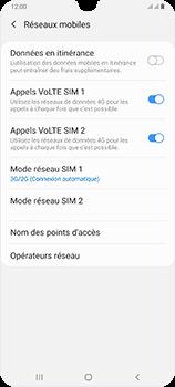 Samsung Galaxy A70 - Réseau - Comment activer une connexion au réseau 4G - Étape 6